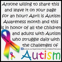 Autism Awareness Picture