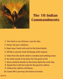 10INDIAN COMMANDMENTS
