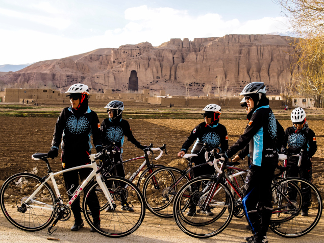 Image of the Afghan Women's National Team by Deni Bechard