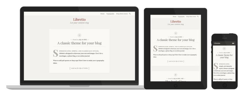 Libretto: Responsive Design