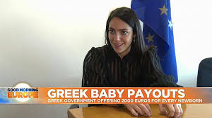 Image result for Greek government to pay families €2000 for every newborn baby